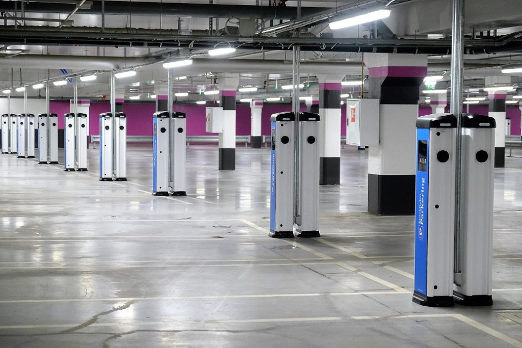ev charging stations for retail car parks