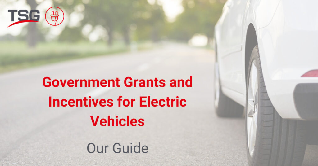 ev car chargers government incentives